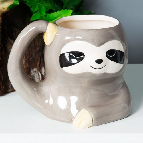 Cute Sleepy Sloth Mug - Gorgeous 3D Sloth Coffee Mug Gift